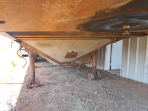 D&D Sales Cortez, CO Used 1969 Timpte Grain Trailer