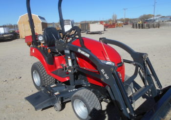 New 2017 Branson 1905H 4WD Tractor w/Loader & Mower Sale Price: $10,500