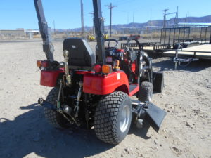 D&D Sales Cortez, CO New 2017 Branson 1905H 4WD Tractor w/Loader & Mower