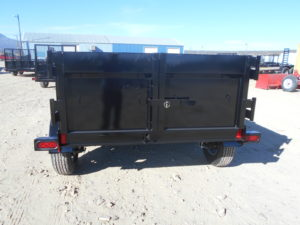 D&D Sales Cortez, CO New Innovative 10X60 Dump Trailer