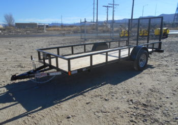 New Innovative 14X60 Utility Trailer Stock #18271 Price: $2195