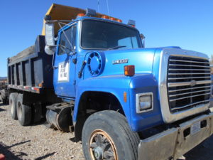 D&D Sales Cortez, CO Used 1998 Ford L9000 Dump Truck & Dually Trailer