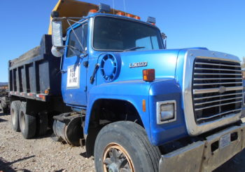 Used 1998 Ford L9000 Dump Truck & Dually Trailer – Consigned