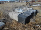 Cement Weight Blocks for Pasture Aerators Price: $150/each