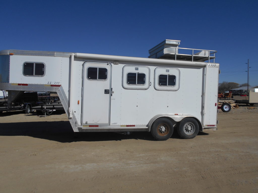 D&D Sales Cortez, CO Used Exiss Event SS-200 Horse Trailer