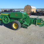 D&D Sales Cortez, CO Used 2017 John Deere 348W Wire Baler