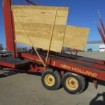 D&D Sales Cortez, CO Used New Holland 1033 Bale Wagon