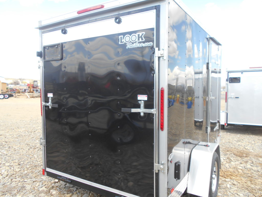 D&D Sales Cortez, CO New Black Look St 6X10 Trailer