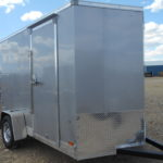 D&D Sales Cortez, CO New Silver Look St 6X10 Trailer