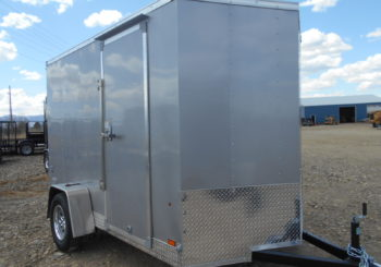 New Silver Look St 6X10 Trailer Stock #29885 Price: $3695