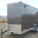 D&D Sales Cortez, CO New Charcoal Look St 6X10 Trailer