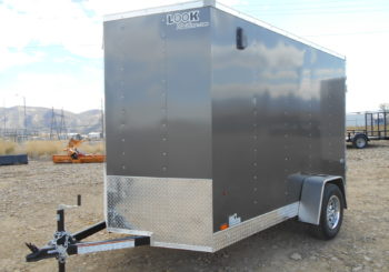 New Charcoal Look St 6X10 Trailer Stock #29933 Price: $3495