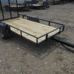 D&D Sales Cortez, CO New Diamond T 4' X 5' Utility Trailer