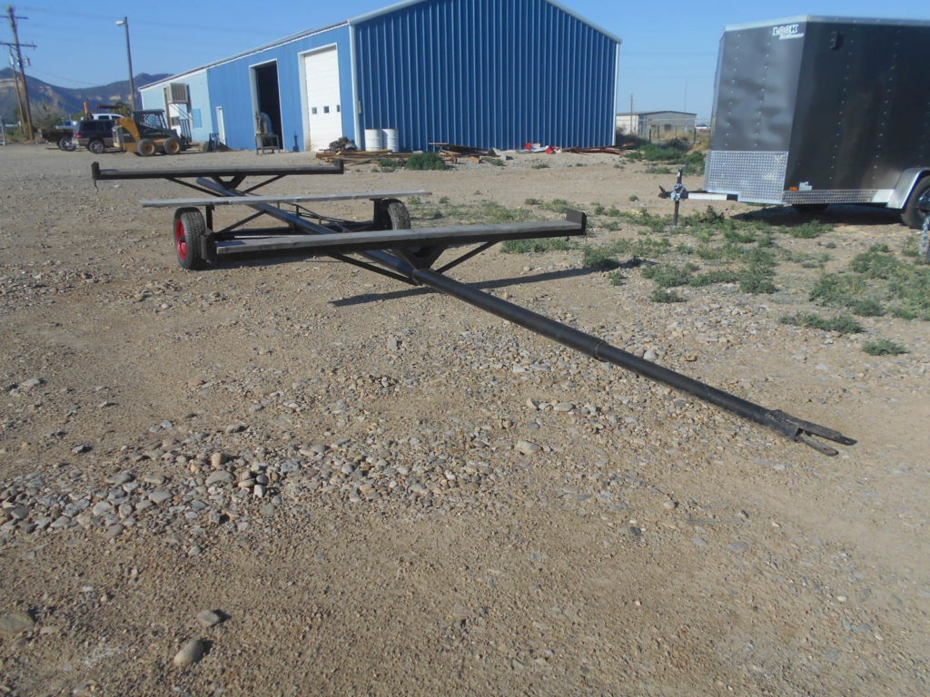 D&D Sales Cortez, CO Used Shop-made Pipe Trailer