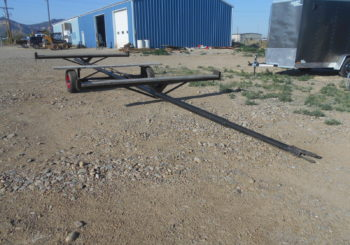 Used Shop-made Pipe Trailer Stock #613 Price: $1500